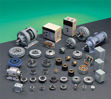 A comprehensive line of clutches and brakes