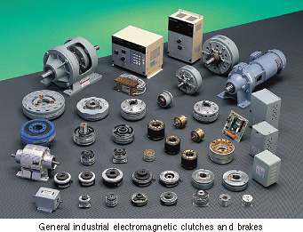 General industrial electromagnetic clutches and brakes