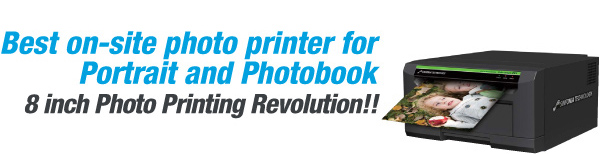 Best on-site photo printer for Portrait and Photobook 8 inch Photo Printing Revolution!!