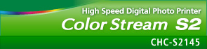 High Speed Digital Photo Printer : Color Stream S2 : CHC-S2145