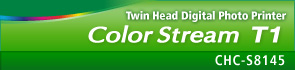 Twin Head Digital Photo Printer : Color Stream T1 : CHC-S8145